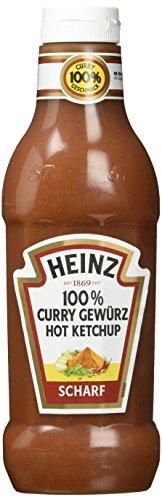 Heinz Curry Gewürz Ketchup Chili, Dosierflasche, 590 ml