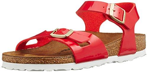 dchen Rio Riemchensandalen, Rot (Tango Red), 31 EU (Red Patent Leder Mädchen Schuhe)