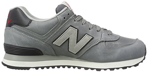 New Balance NBML574UKD Sneaker, Unisex Grey Luxury