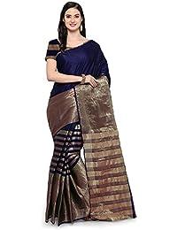 Saree Mall Women's Silk Cotton Saree With Blouse Piece (sarees New Collection 2017_4AURA4011)
