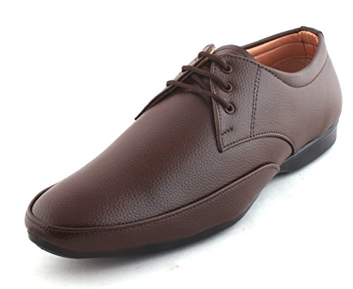 WOODSTONE TAPER DAILY OFFICE WEAR , DERBY ,BROWN LEATHER FORMAL SHOES FOR MEN