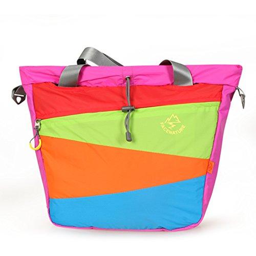 All'aperto portatile borsa Messenger/ gli amanti della spalla borsa da viaggio/Sacchetto di diagonale-arancione Rosso