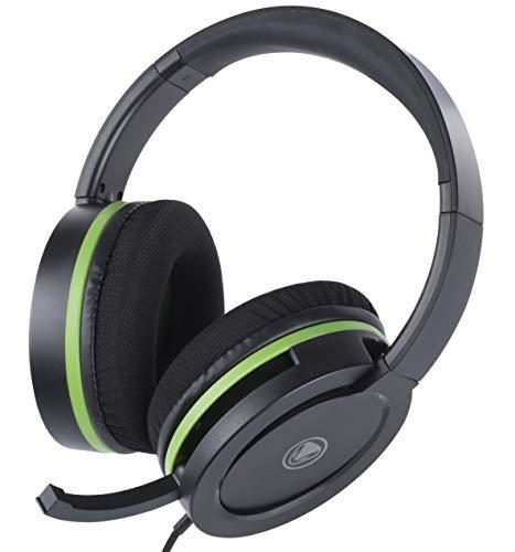 snakebyte Xbox One HEAD:SET X PRO - Stereo Headset inkl. Headset Halter & 3,5mm Y-Kabel / Splitter Cable - zur Verwendung mit sämtlichen Xbox One Konsolen
