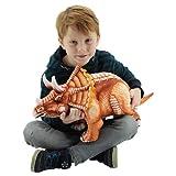 Sweety Toys 10844 Dinosaurio Peluche 62 cm Triceratops