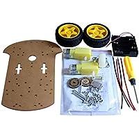 Topker Kit Box práctica Inteligente del Robot del chasis del Coche codificador de la Velocidad de