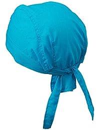 Myrtle Beach Bandana Pañuelo mb041de moda, hombre mujer unisex, Myrtle Beach - Bandana Hat | Kopftuch, turquesa, talla única