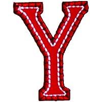 Y 9cm rosso blu Lettere Stirare Arti Misto Regalo Dei