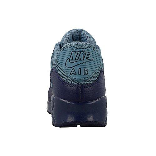 Nike Herren Air Max 90 Essential Low-Top Dunkelblau-Grau