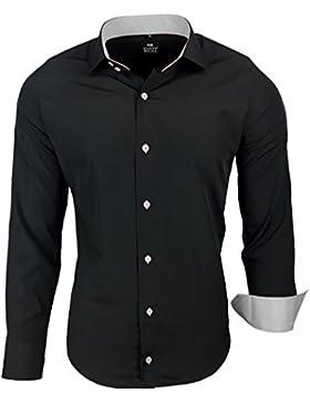 Avroni -  Camicia Casual  - Uomo