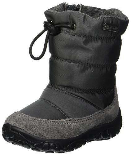 Naturino Baby Jungen POZNURR Stiefel, Silber (Antracite 0b01), 26 EU -