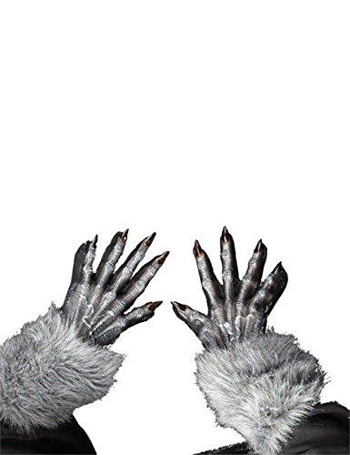 Halloween Werwolf Handschuhe ()