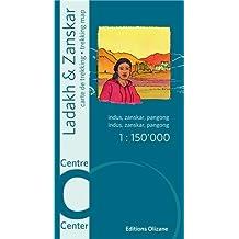 Ladakh & Zanskar centre : 1/150 000