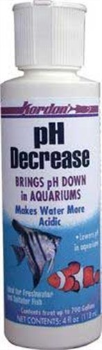 KORDON #35324 pH Decrease for Aquarium, 4-Ounce by Kordon