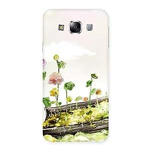 Fence Landscape Back Case Cover for Samsung Galaxy E5