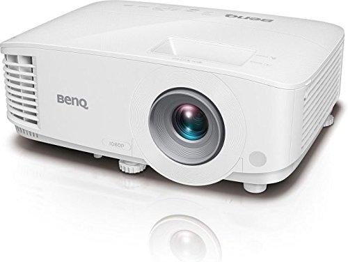 "BenQ MH733 - Proyector DLP de 4000 ANSI Lúmenes, inalámbrico, Full HD, Lector USB, Control LAN, 100\"" a 2.5 m - 3.3 m, Zoom de 1.3X, Blanco"