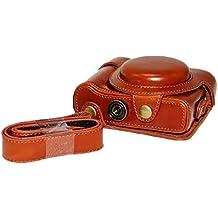 Zenness Funda de Cuero Caso / Cubierta / Caja / Bolsa Protectora de PU para Sony Cyber-shot DSC-HX60 HX50 HX30 camaras compactas
