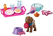 Barbie Breakfast, Spa Day and Puppy Accessory Pack, FXG28, FHY69, FHY70 Pink Blue Purple