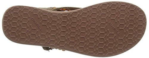 O'Neill FW BATIDA BEADS, Sandales Bride cheville femme Brun (Toffee 7082)