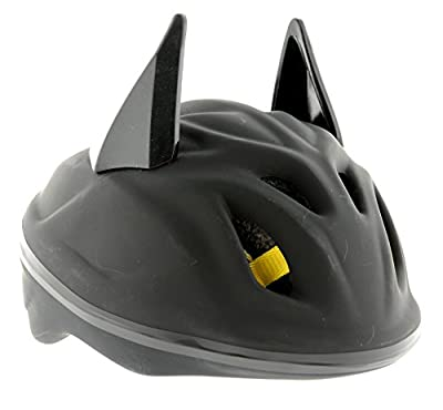 Batman Boy's 3D Bat Safety Helmet - Black, 53-56 cm from Batman