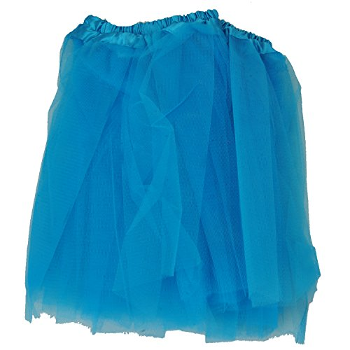 Tutu Skirt – Light Blue Princess Girl's Pettiskirt Dress-Up Tutu Tulle Skirt / Mini Skirt For Ballet Dance Photography Prop Costume Outfit Party Dancewear~ 23cm Length ~ 23-43 Cm Waist  available at amazon for Rs.298