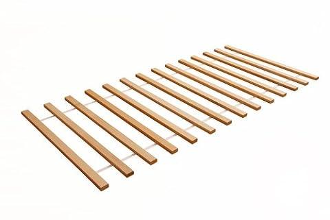 TICAA Rollrost Buche 90 x 200 cm (Günstige Jugendbetten)