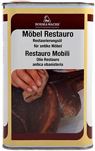 Hartholz-buffet (1000ml Möbel Restauro Öl Restaurierungsöl Pflegemittel mittel Holz Wachs Wax)