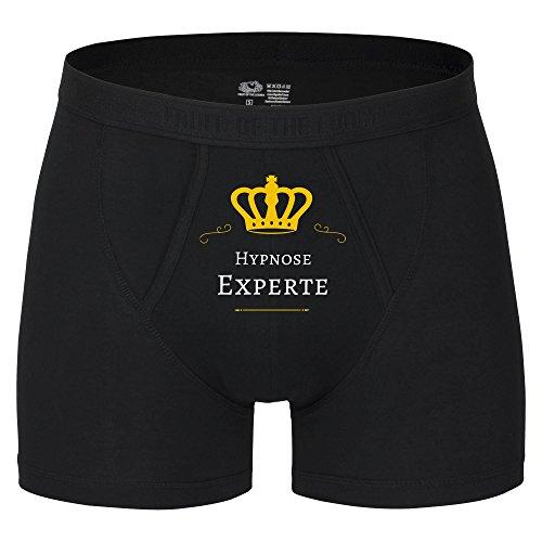 Boxer Short Hypnose Experte schwarz Herren Gr. S bis 2XL, Größe:XXL