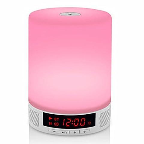 FYN Creative Accueil Creative Bluetooth stéréo coloré lampe LED lampe de chevet Président