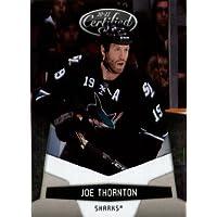2010 /11 Panini Certified Hockey Card # 121 Joe Thornton San Jose Sharks In a
