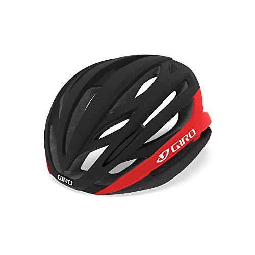 Giro Casco Ciclismo 2019 Syntax MIPS Matte Negro-Bright Rojo (M 55-59Cm, Negro)