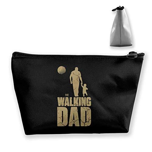 The Walking Dad Ball Travel Kulturbeutel Tragbare Kosmetiktaschen - Neuheit Fußball-bälle