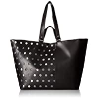 Kendall & Kylie Tote Bag for Women - Black (HBKK-418-0006B-26)