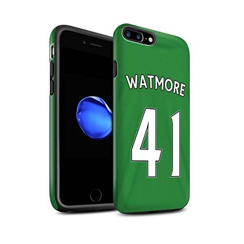 Offiziell Sunderland AFC Hülle / Matte Harten Stoßfest Case für Apple iPhone 7 Plus / Khazri Muster / SAFC Trikot Away 15/16 Kollektion Watmore