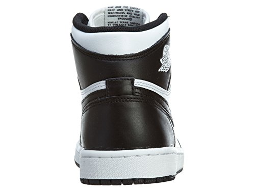Nike Air Jordan 1 Retro High Og, Chaussures de Sport Homme, Blanc, S Black/White-Black
