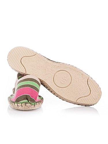 Baixo Multicolor Sapatos Espadrille Unisexo 100 adulto Espadrij L'clássico Original Y0q88B
