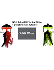 Set of 2 Jenzi Vertical Airline 30gr (Yellow/Red/Black) + A Free Petri Heil. [German Language