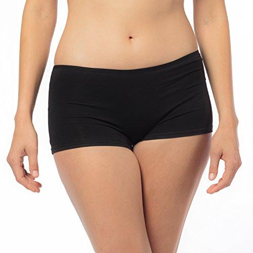 6er Pack Libella Damen Panties Boxershorts LDU3901 XL (Panty Boxershorts)