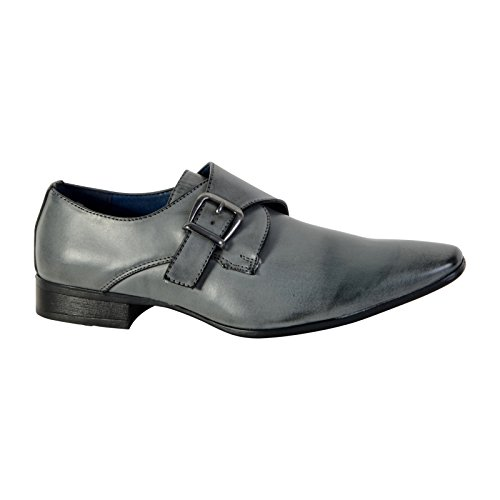 ENZO MARCONI Chaussure Derby Gris Gris