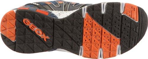 Geox Jr Ascari J22F5V01454C0659 Jungen Sneaker Blau (navy/orange C0659)