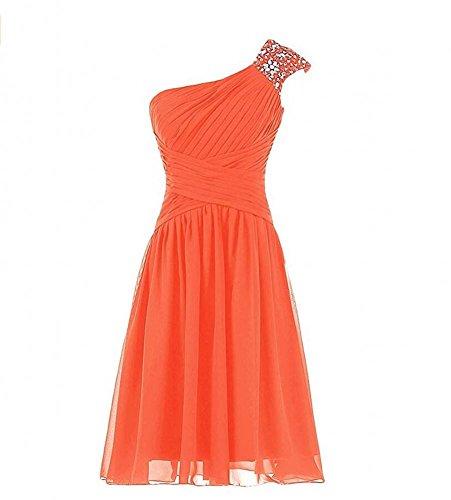 KA Beauty - Robe - Femme Orange