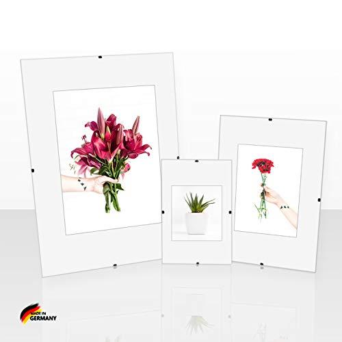 Rahmenloser Bildhalter 65 x 92 cm mit Clips Boston Cliprahmen 92 x 65