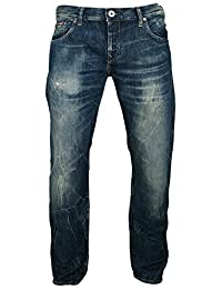 Firetrap Kore-Selvage Straight Jeans