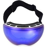 Shuzhen,Protección UV Antiniebla Esquí Gafas Máscara Hombres Mujeres Snowboard Gafas(Color:Azul Y Blanco,Size:4501)