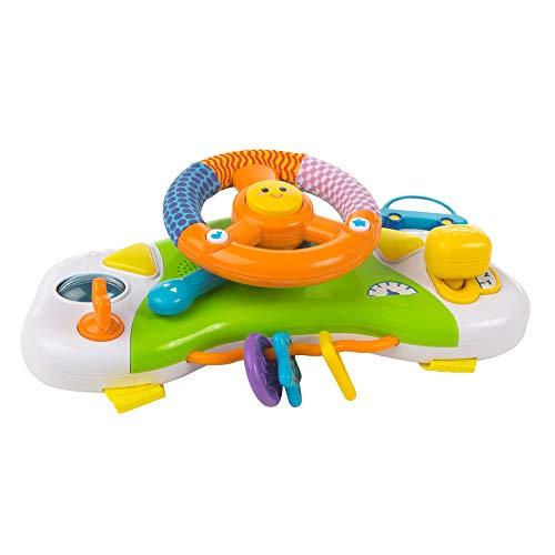 winfun- Volante simulador para Carrito de bebé (ColorBaby 40300)