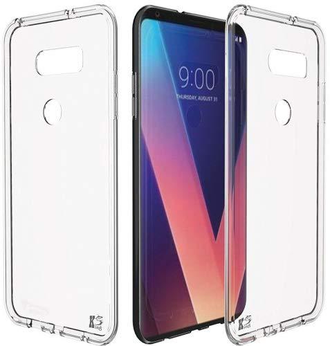 LG V30 LG V30s Hülle, KingShark TPU Schutzhülle Dünn Schlank Weich Flexibel Silikon Anti-Kratzer Schutzhülle Abdeckung Case Cover für LG V30 - Durchsichtig
