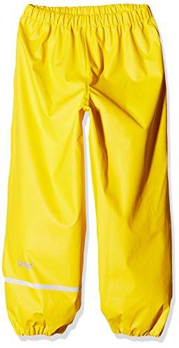 CareTec Kinder Regenhose (verschiedene Farben) , Gelb (Yellow 324), 134