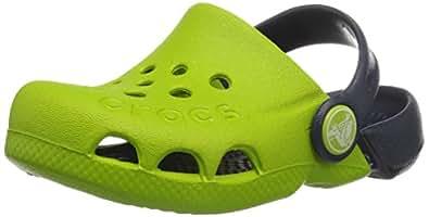 Crocs - Kids Electro Schuhe, EUR: 19-20, Volt Green/Navy