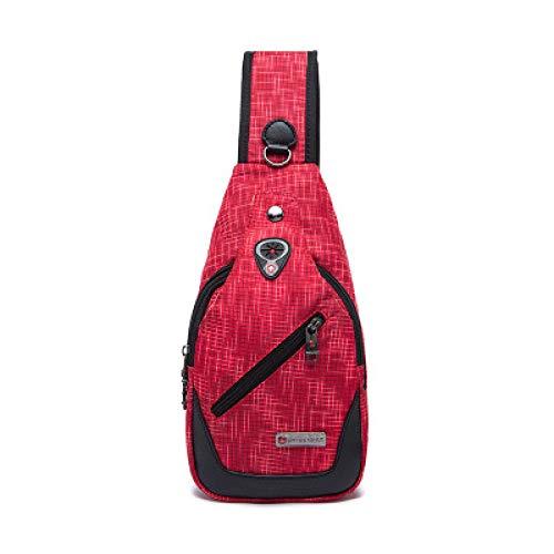 2019 Sommer Neue Schulter Brusttasche im Freien Männer Messenger Bag Flut Tasche Mode Taschen (Nike Messenger Bag Für Männer)