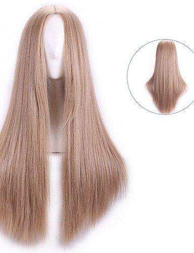 Mode Perücken WIGSTYLE natual blonde harajuku günstige Cosplay Perücken peruca synthetische Perücke Frauen lolita Animeperücke Cosplay Haar-Perücken lange gerade