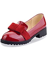 OCHENTA Arco de Moda mujer zapatos planos ocasionales